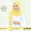 Aurora Swarovski Crystal in Citrus Lemon  - MatBunga Exclusive