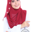 Miss Gorgeous in Wild Maroon  - MatBunga Exclusive