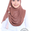 Miss Gorgeous in Earthy Rust  - MatBunga Exclusive