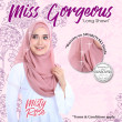 Miss Gorgeous in Misty Rose  - MatBunga Exclusive