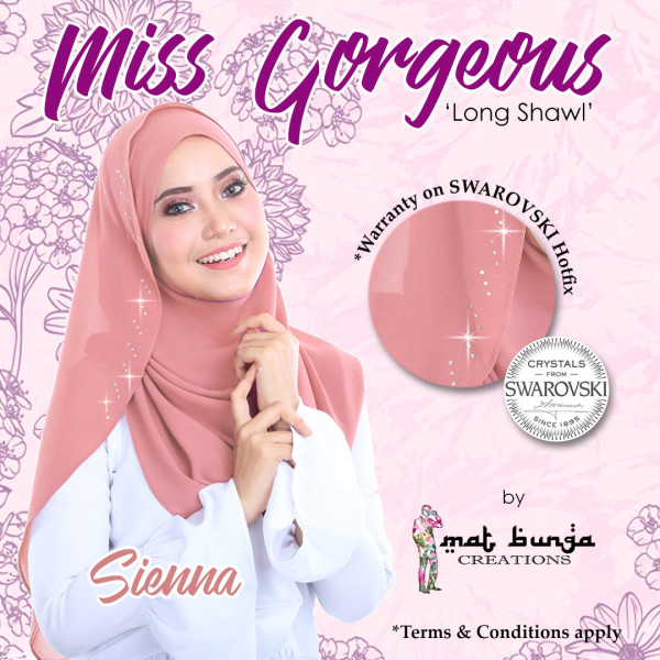 Miss Gorgeous in Sienna  - MatBunga Exclusive