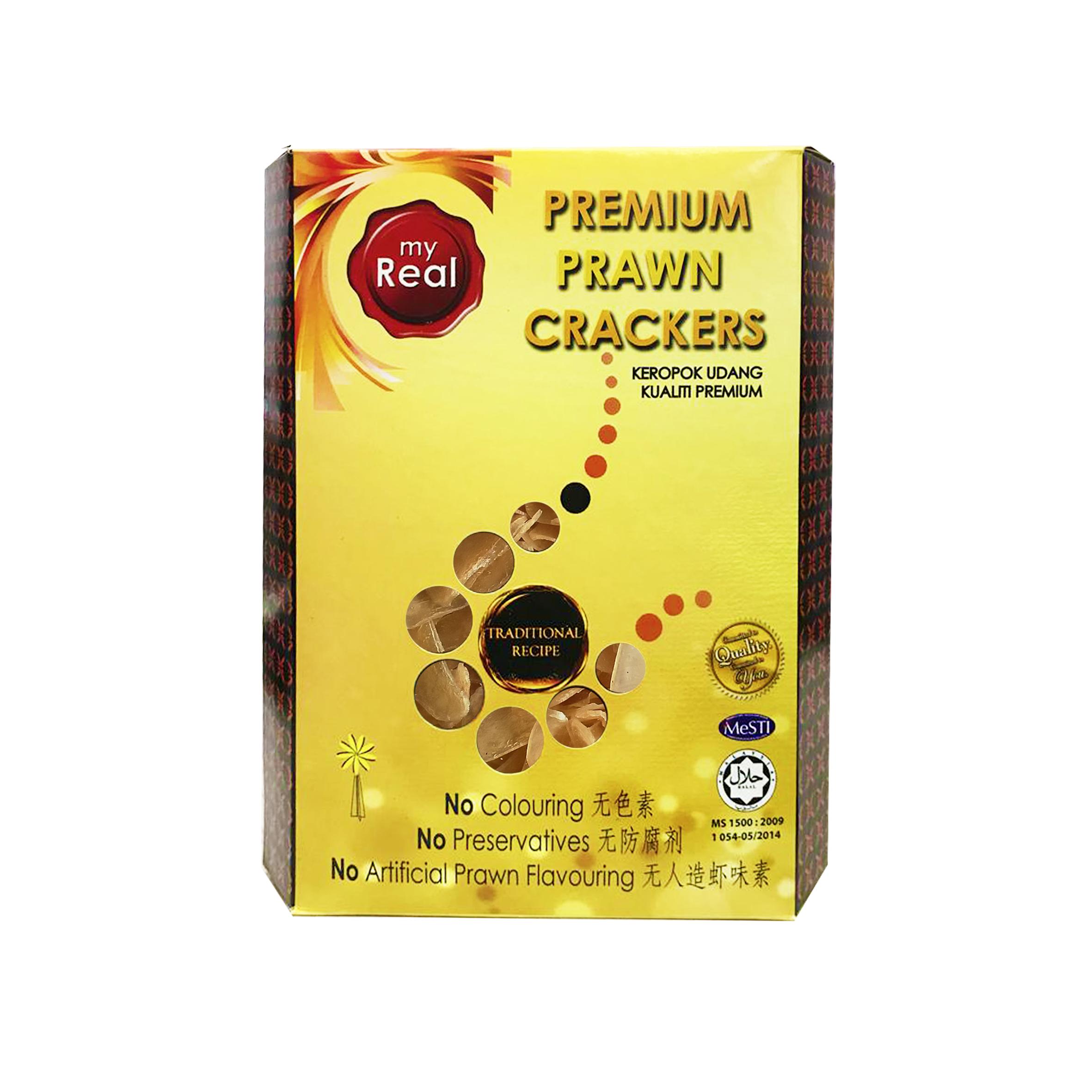 myReal Premium Prawn Crackers Slice 360g (Dried)