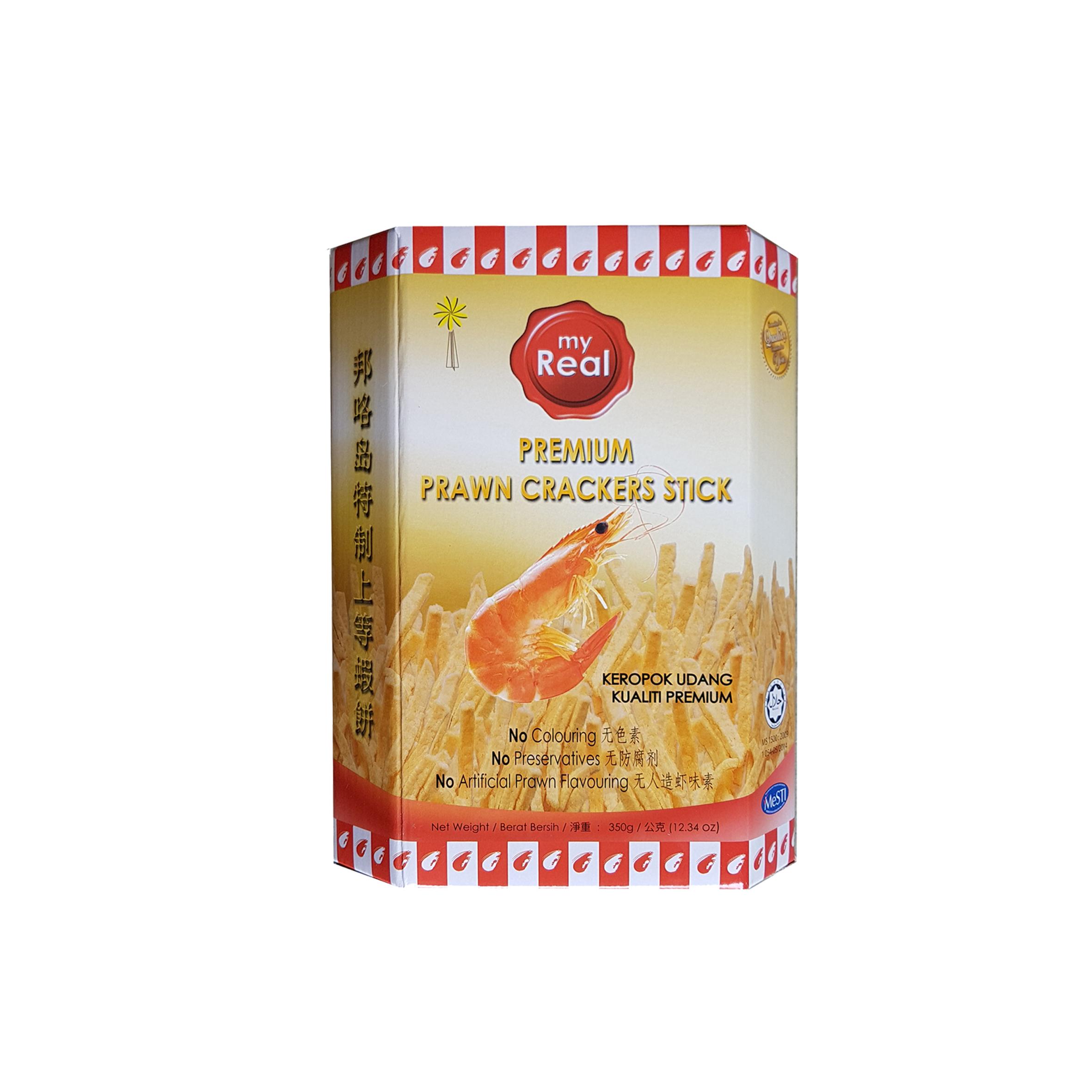 350g myReal Premium Prawn Crackers Stick