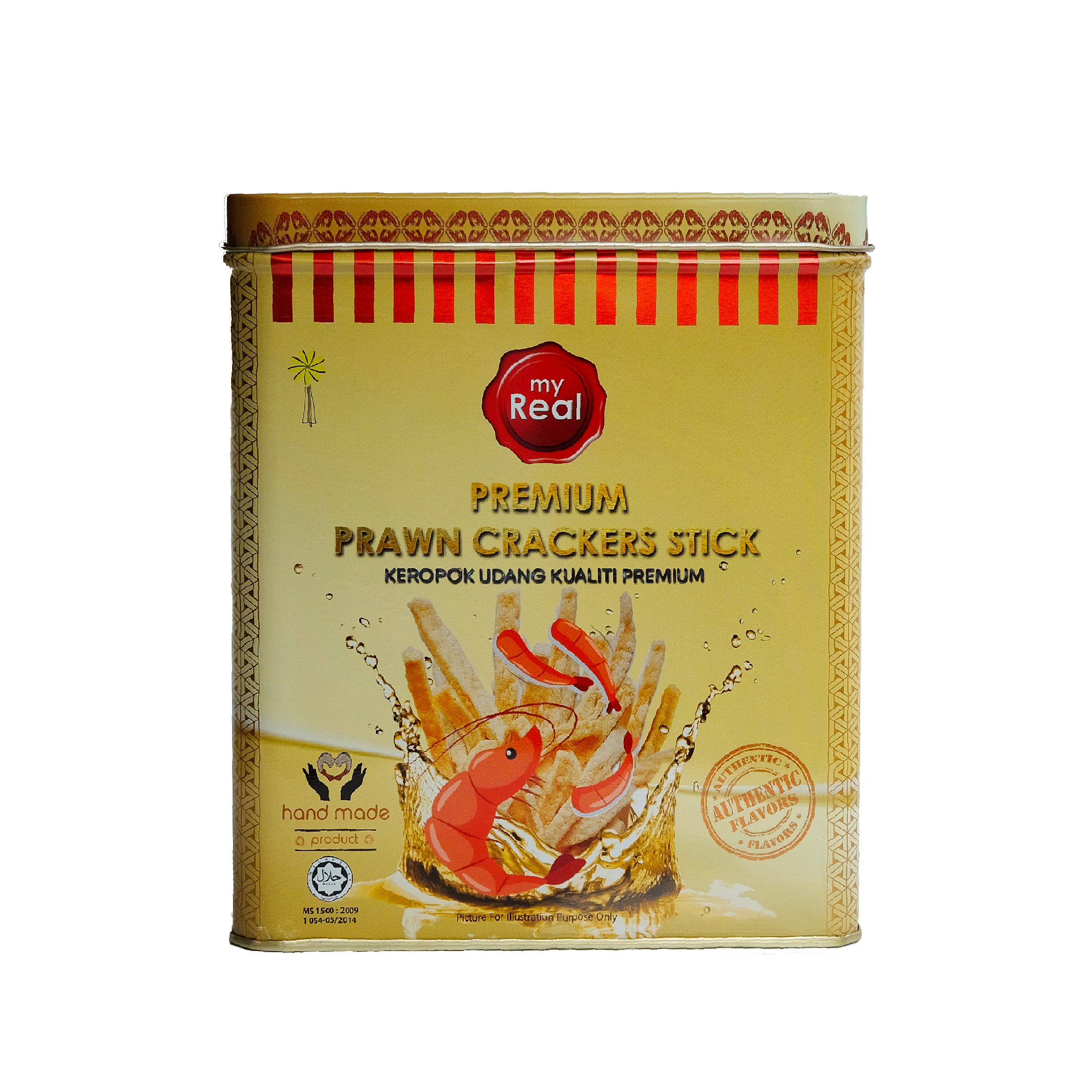 320g myReal Premium Prawn Crackers Stick