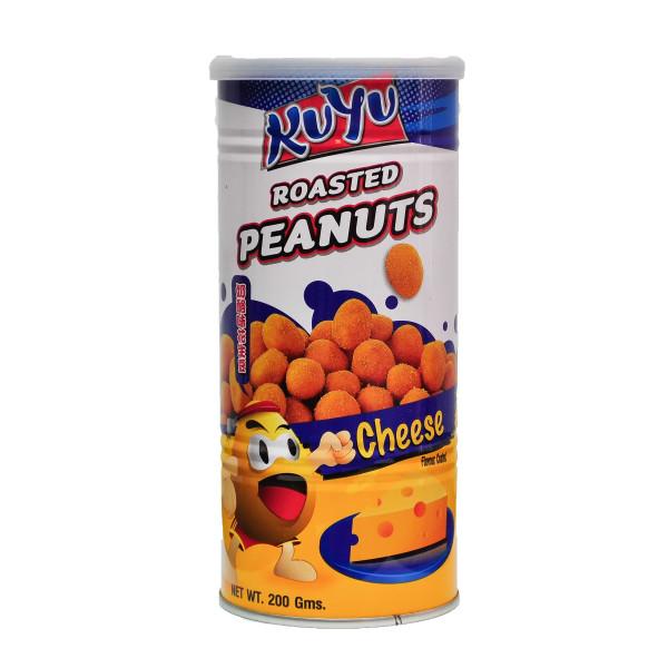 Kuyu Roasted Peanut Cheese 200g - Lumut Crackers
