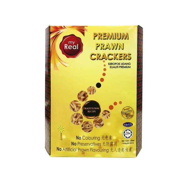 myReal Premium Prawn Crackers Stick 360g (Dried) - Lumut Crackers