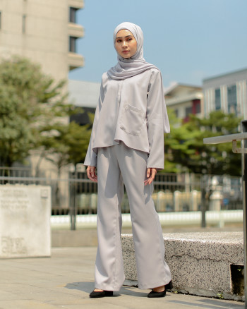 AZALEA SET (PEWTER GREY)