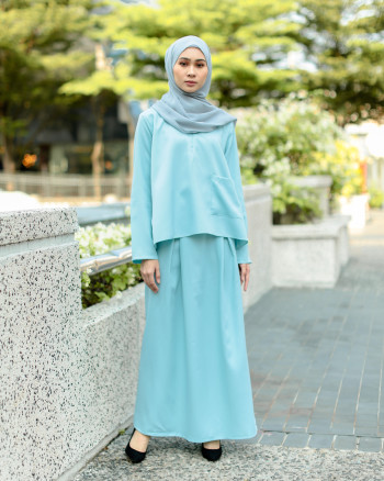 POLEA SKIRT SET (OCEAN BLUE)