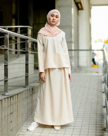 POLEA SKIRT SET (VANILLA CANVAS)