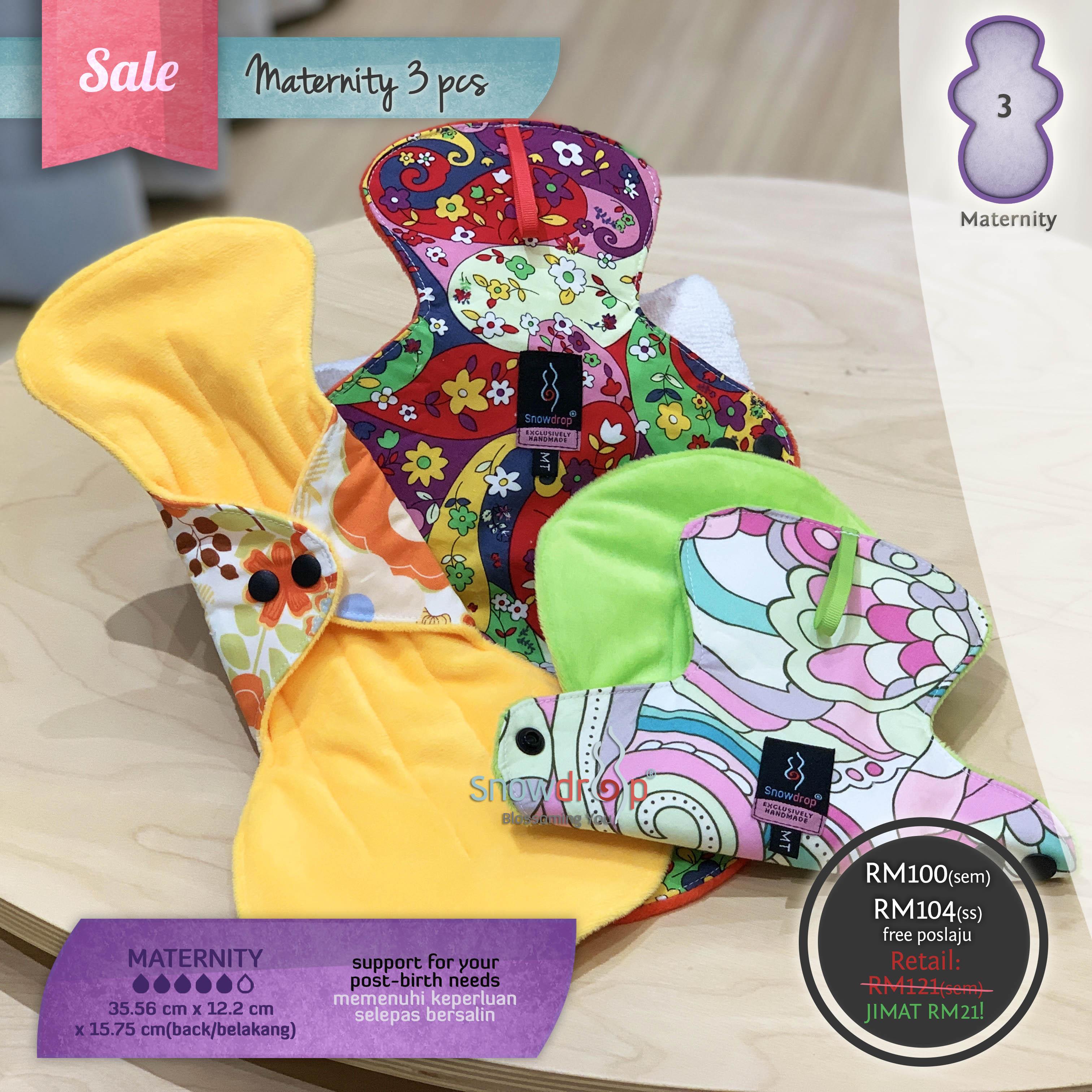 SALE - Maternity 3 Pieces Set