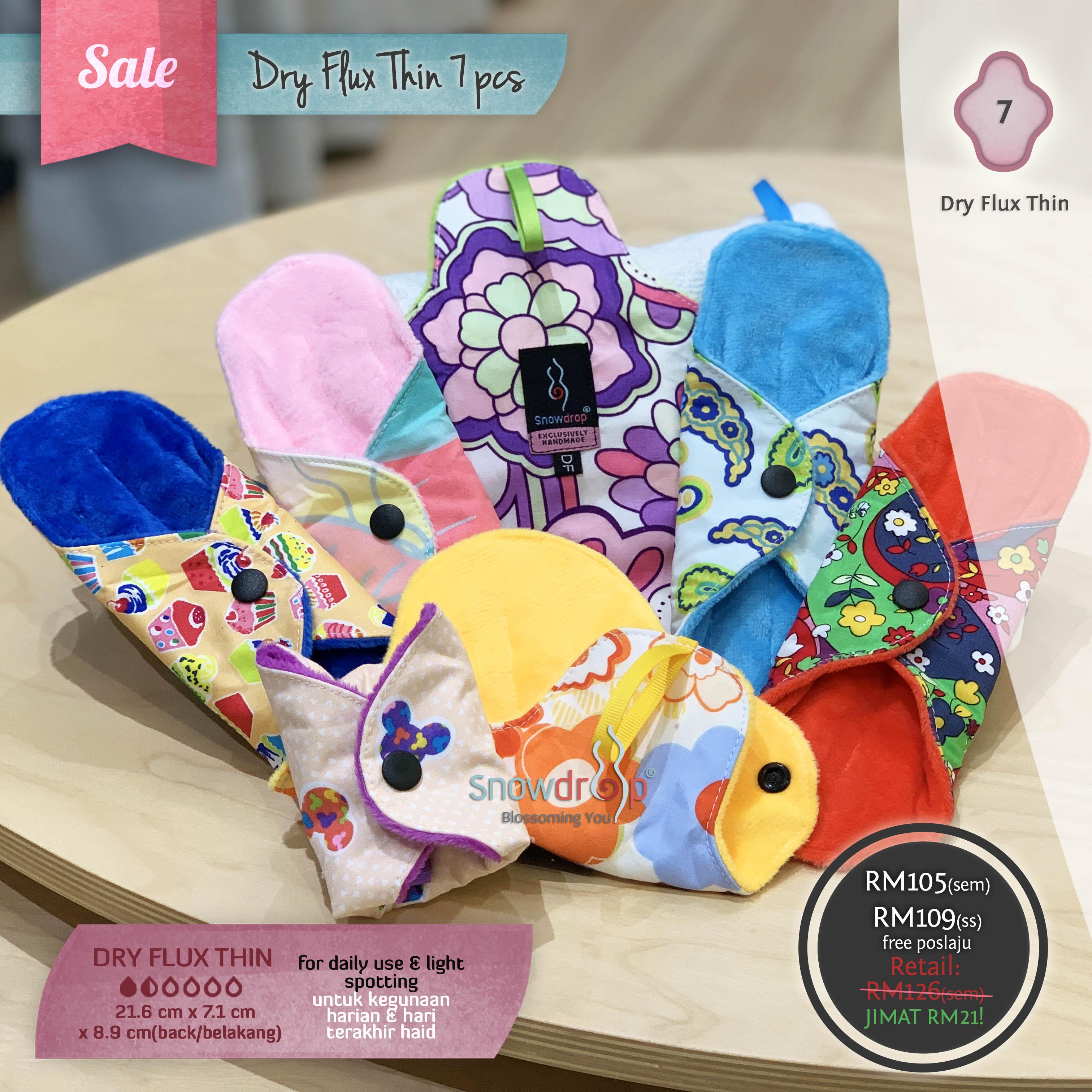 SALE - Dry Flux Thin 7 pieces Set