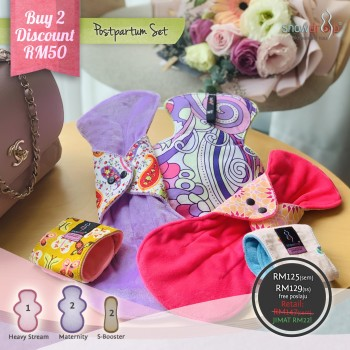 Pakej Postpartum Set