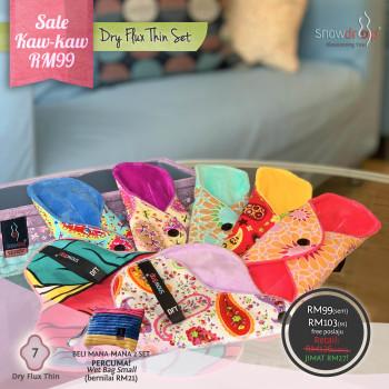 Pakej Sale RM99 - Dry Flux Thin Set