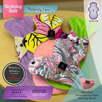 Pakej SALE 4 Maternity Pad
