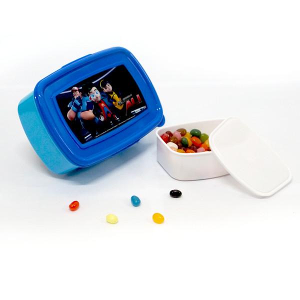 EJEN ALI: LUNCH BOX LARGE ( BLUE ) - Ejen Ali Gears