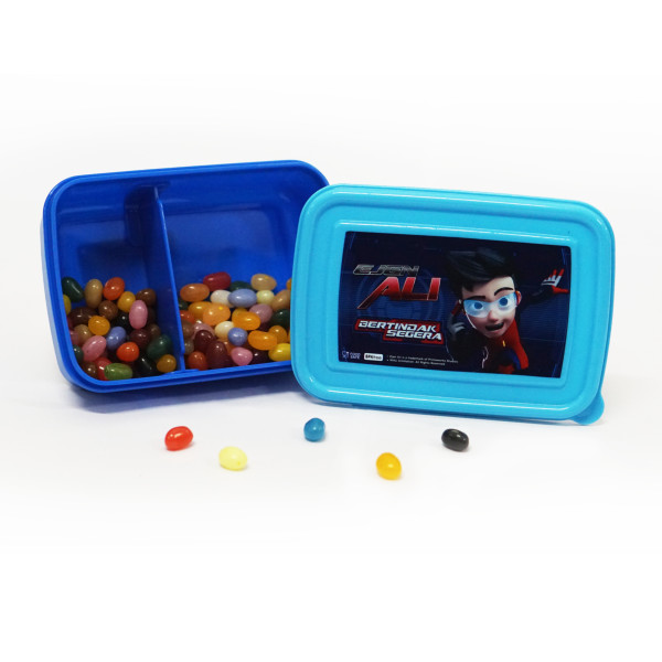 EJEN ALI: LUNCH BOX SMALL ( BLUE ) - Ejen Ali Gears