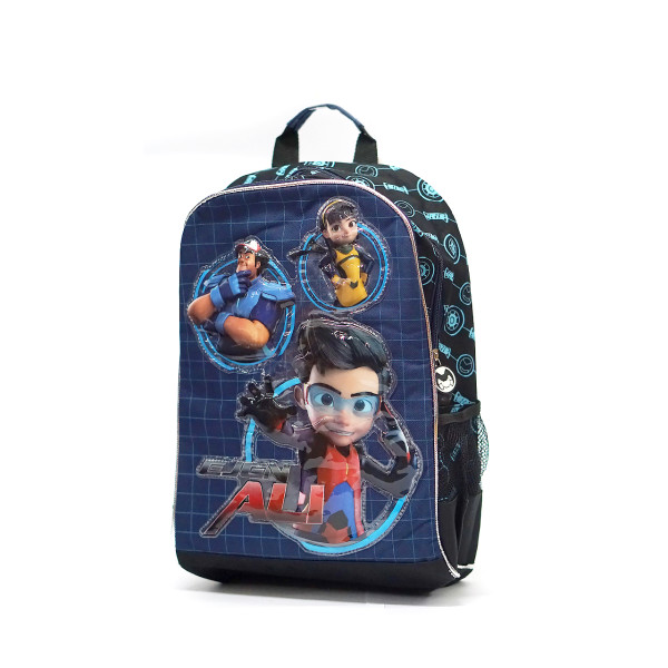 EJEN ALI BACKPACK (BLUE) - Ejen Ali Gears