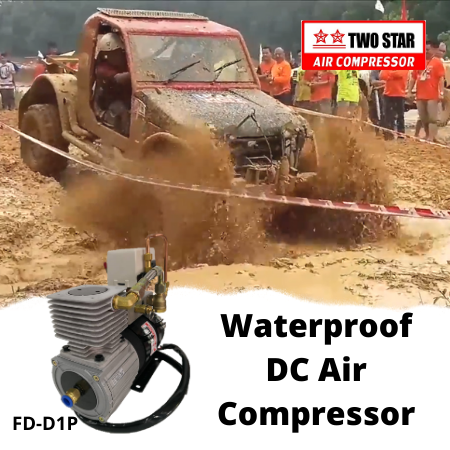 Two Star FD-D1P-DC24V 24V DC Oil Free Waterproof On Board Air Com