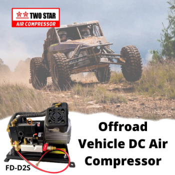 Two Star FD-D2S-DC12V 12V DC Oil Free On Board Air Compressor