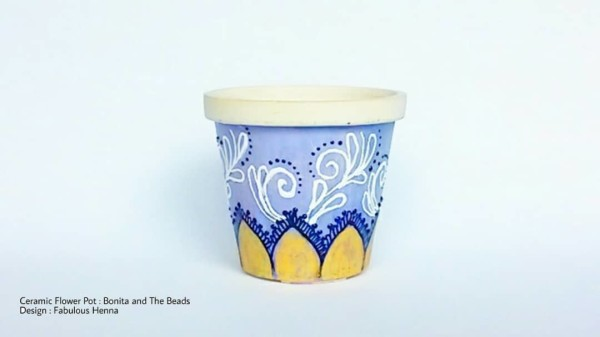 Ceramic Mini Pot - Manik Heritage