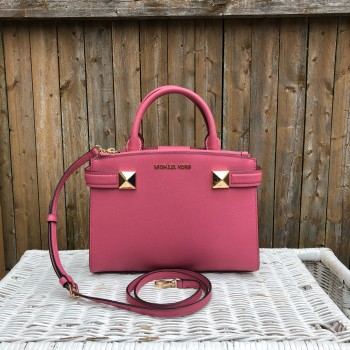 ddf7972bf77a SOLD OUT  READY STOCK  Michael Kors Karla Small EW Satchel in Tulip