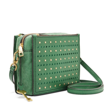 0bd8737ba815  READY STOCK  Fossil Campbell Crossbody in Spring Green