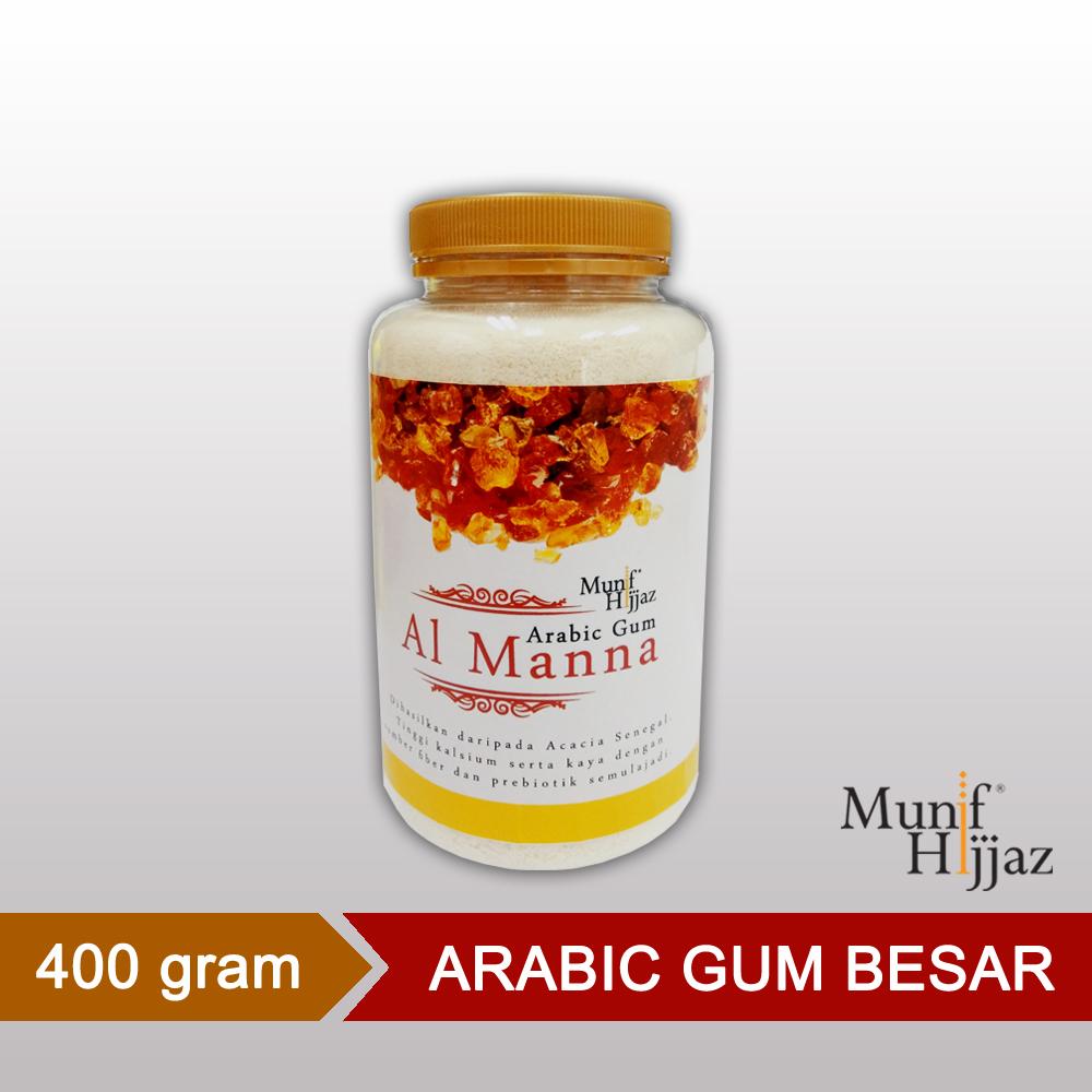 Munif Hijjaz Al Manna Arabic Gum - 400 Gram