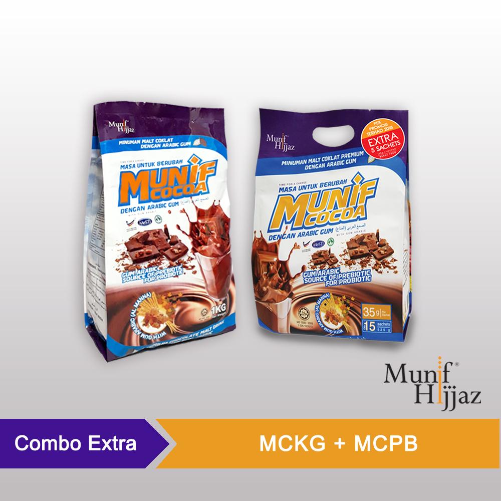 Munif Cocoa Combo Xtra