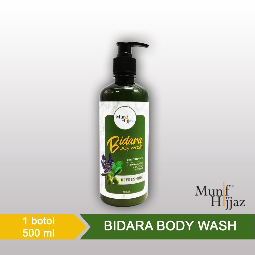 Munif Hijjaz Bidara Body Wash