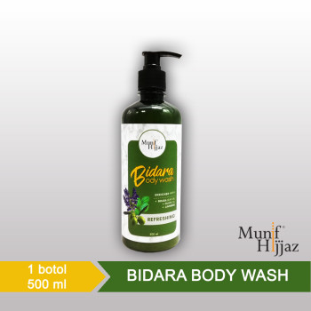 Munif Hijjaz Bidara Body Wash