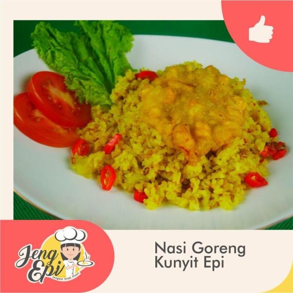 Nasi Goreng Kunyit Epi - Jeng epi