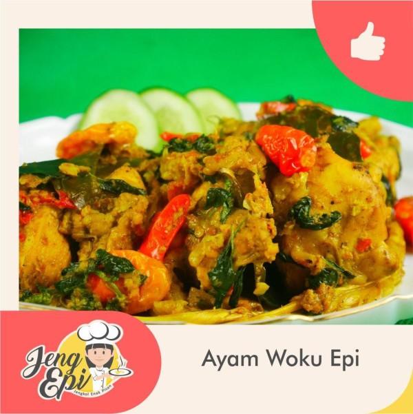 ayam woku epi - Jeng epi