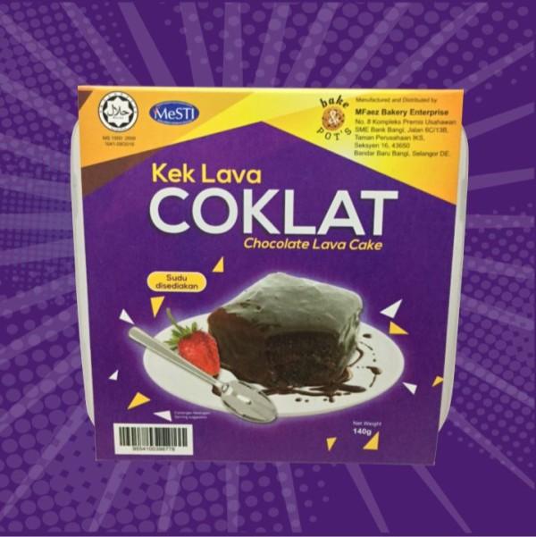 CHOCOLATE LAVA CAKE - Bake and Pot's