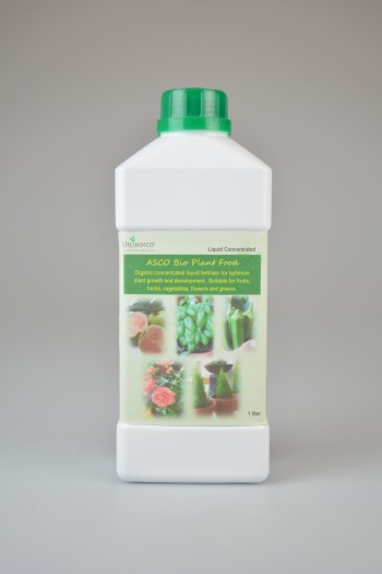 ASCO Bio Plant Food, organic concentrated liquid fertilizer