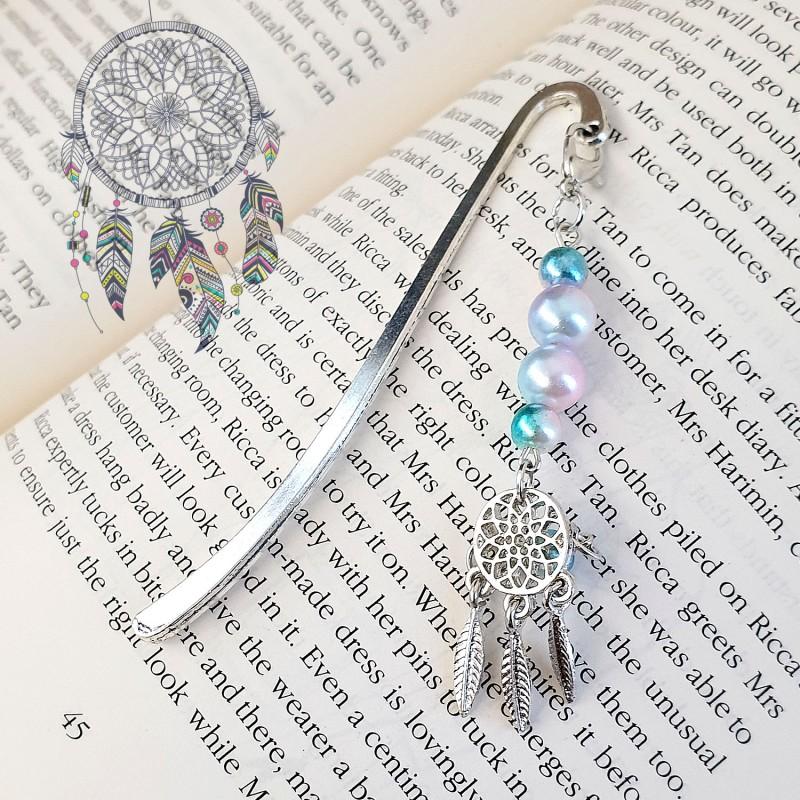 Dream Catcher Silver Bookmark