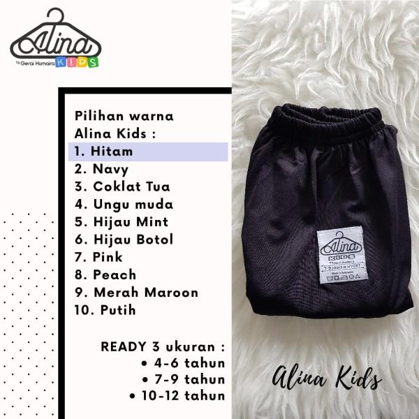 Celamis Alina Kid Hitam - Gerai Jolie