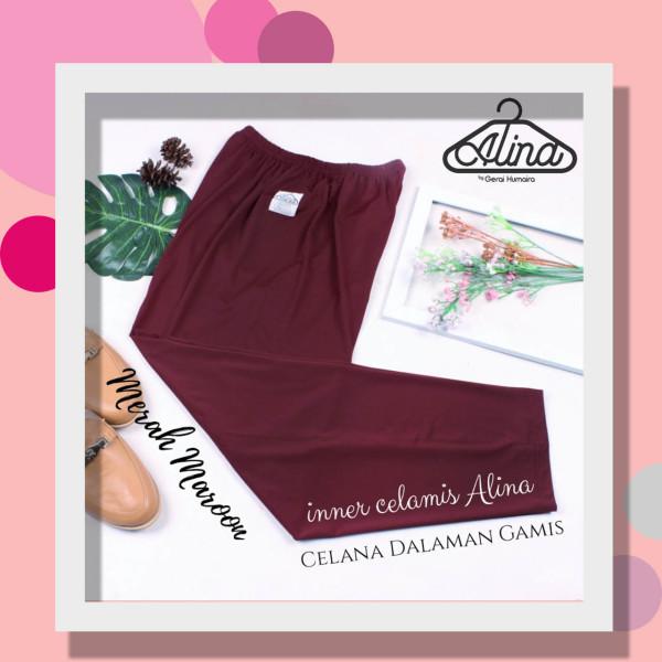 Celamis Alina Merah Marun - Gerai Jolie