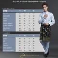 Baju Melayu Slimfit Light Grey - Fiqrana Exclusive