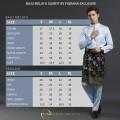 Baju Melayu Slimfit Pale Pink - Fiqrana Exclusive