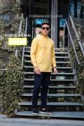 KURTA ARYAN ( SUMMER YELLOW) - Fiqrana Exclusive