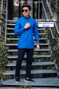 KURTA ARYAN ( MAJESTICAL BLUE) - Fiqrana Exclusive