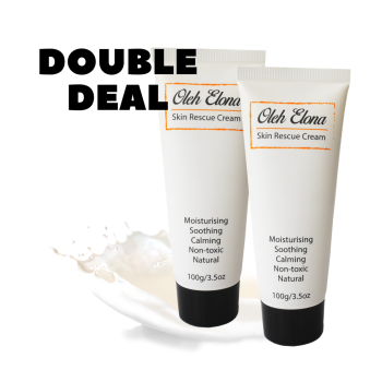 DOUBLE DEAL : 2 X Skin Rescue Cream 100g