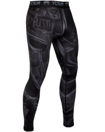 VENUM GLADIATOR 3.0 COMPRESSSION TIGHTS - BLACK/BLACK