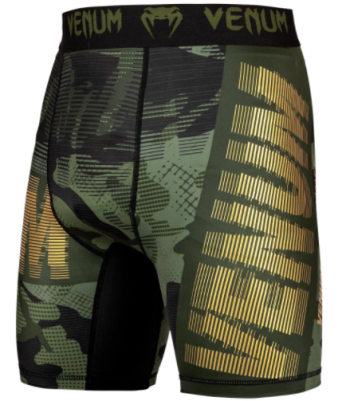 VENUM TACTICAL COMPRESSION SHORTS - FOREST CAMO/BLACK