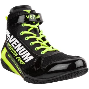 VENUM GIANT LOW VTC 2 BOXING SHOE - BLACK/NEO YELLOW