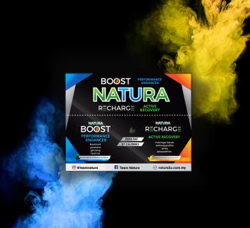 Natura - Natura Boost & Recovery ( 1 Box = 12 sachet inside )