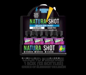 NATURA -  NATURA SHOT (1 BOX 6 Bottle inside)