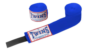 TWINS SPECIAL BOXING HANDWRAPS - BLUE