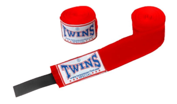 TWINS SPECIAL BOXING HANDWRAPS - RED