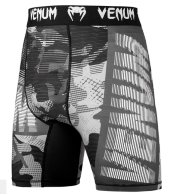 VENUM TACTICAL COMPRESSION SHORTS - URBAN CAMO/BLACK
